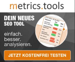 metrics tools schlei lotse